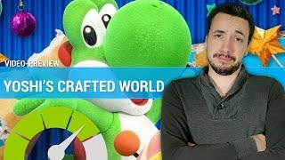 YOSHI'S CRAFTED WORLD : Retour réussi pour Yoshi ? | PREVIEW