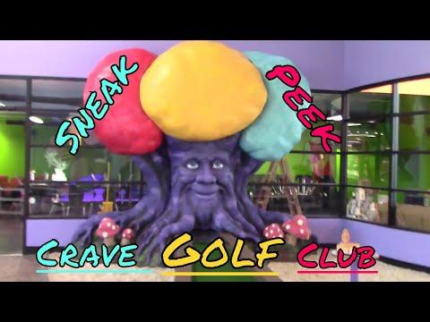 Sneak Peek-Crave Golf Club-Pigeon Forge,TN