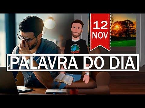PALAVRA DE DEUS PARA HOJE, DIA 12 DE NOVEMBRO | ANIMA GOSPEL