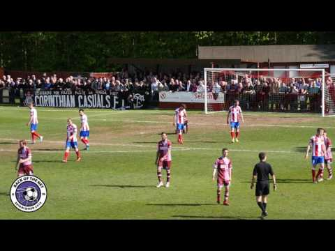 Ryman Div One South Play Off FINAL: Dorking Wanderers v Corinthian Casuals