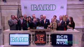 C. R. Bard Celebrates 45 Years of Trading