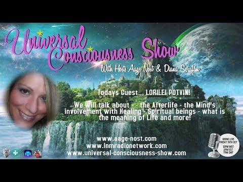 LORILEI POTVIN ---  Universal Consciousness Show 10-19-18