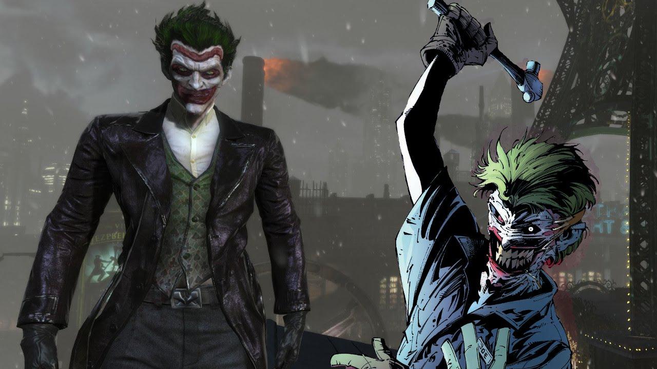 Batman Arkham Origins Joker New 52 Death Of The Family Mod ... New 52 Joker Injustice