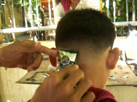 YOUNG MAN MILITARY HAIRCUT YouTube - Army cut hairstyle indian