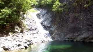 大峯の谷で水遊び 南谷真鈴 動画 17