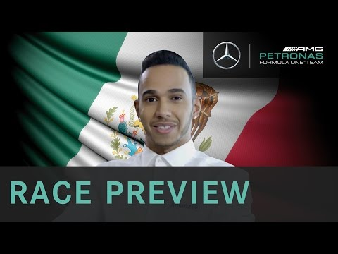 Lewis Hamilton 2015 Mexican Grand Prix F1 Preview with Allianz