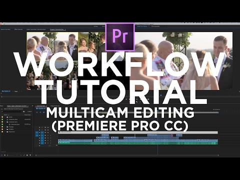 Multicam Editing Tutorial   Adobe Premiere Pro CC 2017   Wedding Filmmakers
