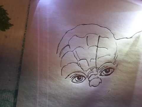 How To Draw Master Yoda Comment Dessiner Maitre Yoda Star War Avec