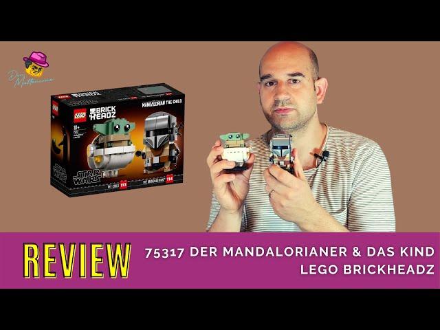 Sind das noch legale Bautechniken? Review Lego 75317 Der Mandalorianer und das Kind