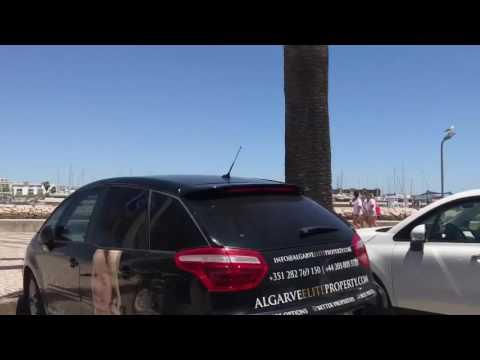 Portugal Lagos Trajet en taxi /  Portugal Lagos Taxi ride