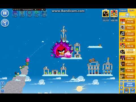 Angry Birds Friends/ Ancient Greece tournament, week 297/2, level 1