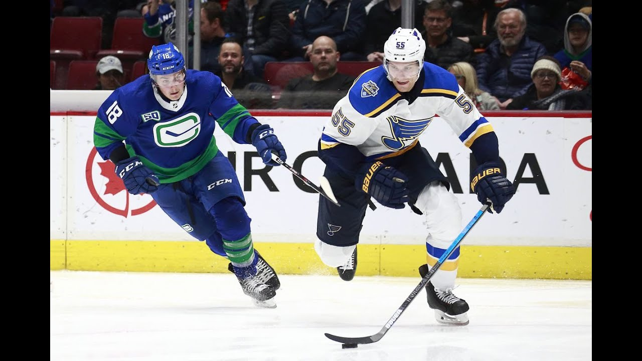 Reviewing Canucks vs Blues Game One