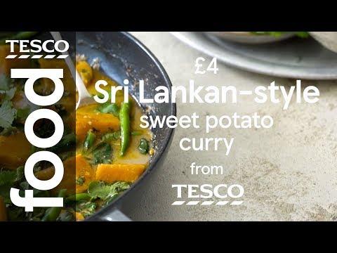 4 Sri Lankan Style Sweet Potato Curry Tesco Food Youtube