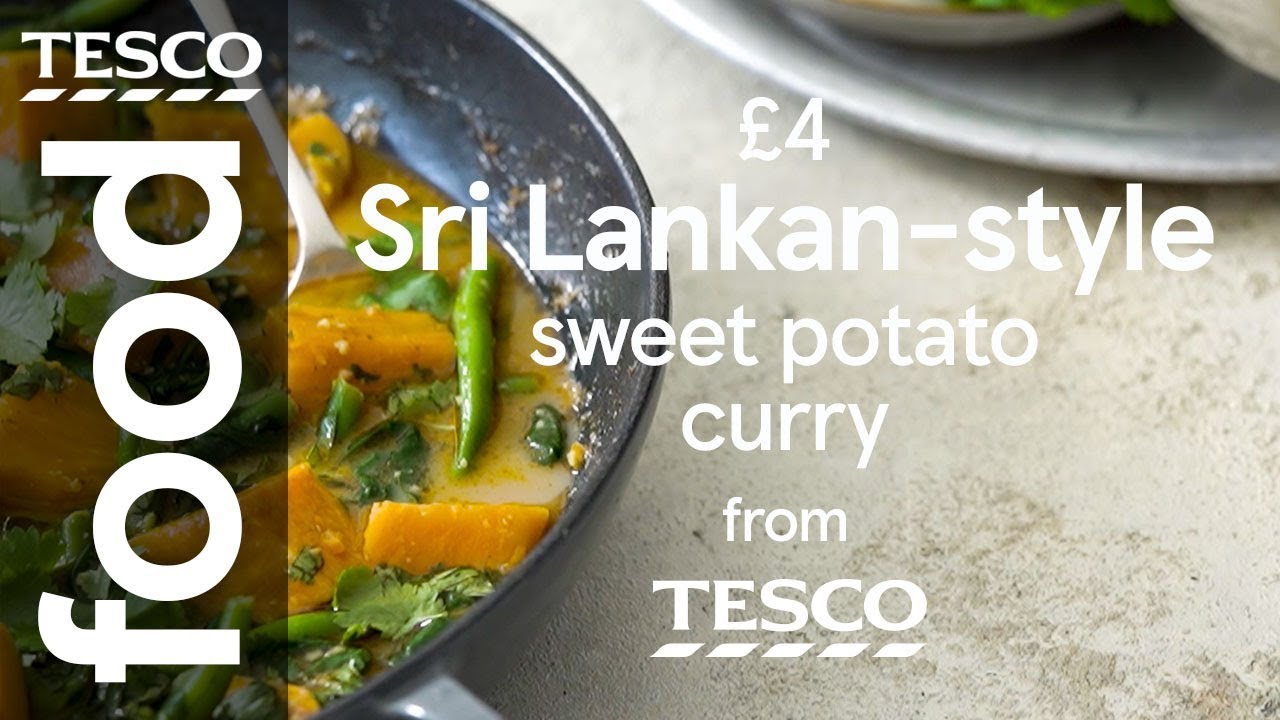 4 Sri Lankan Style Sweet Potato Curry Tesco Food
