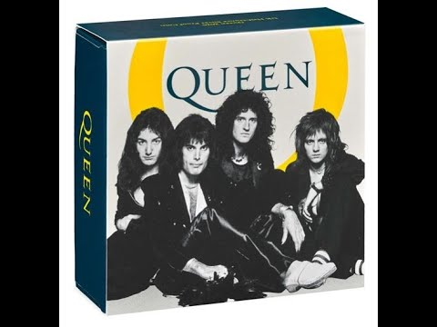 Queen Coins 2020 Music Legends from The Royal Mint