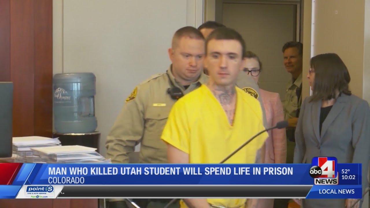 Man who killed Utah student sentenced for Colorado killing