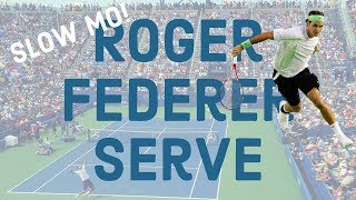 Roger Federer Serve l Slow Motion HD l Groundstrokes l And More!
