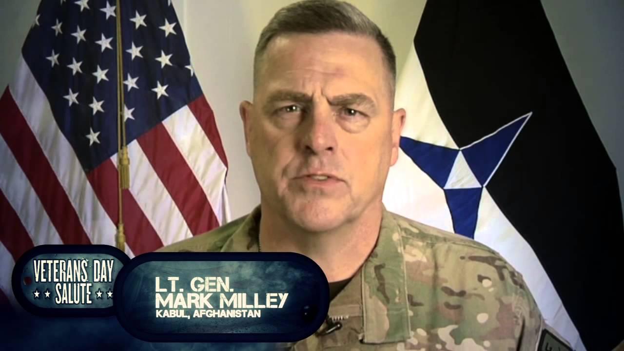 Lt  Gen  Mark Milley Veterans Day Salute