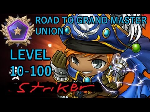 THUNDER BREAKER LEVEL 10-100 (MapleStory Road to Grand Master Union Ep.8)