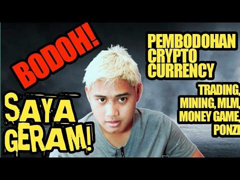 Pembodohan Crypto Bitcoin Indonesia !! Gausah Pake Kalimat Penenang Kalau Emang Lu GATAU !!