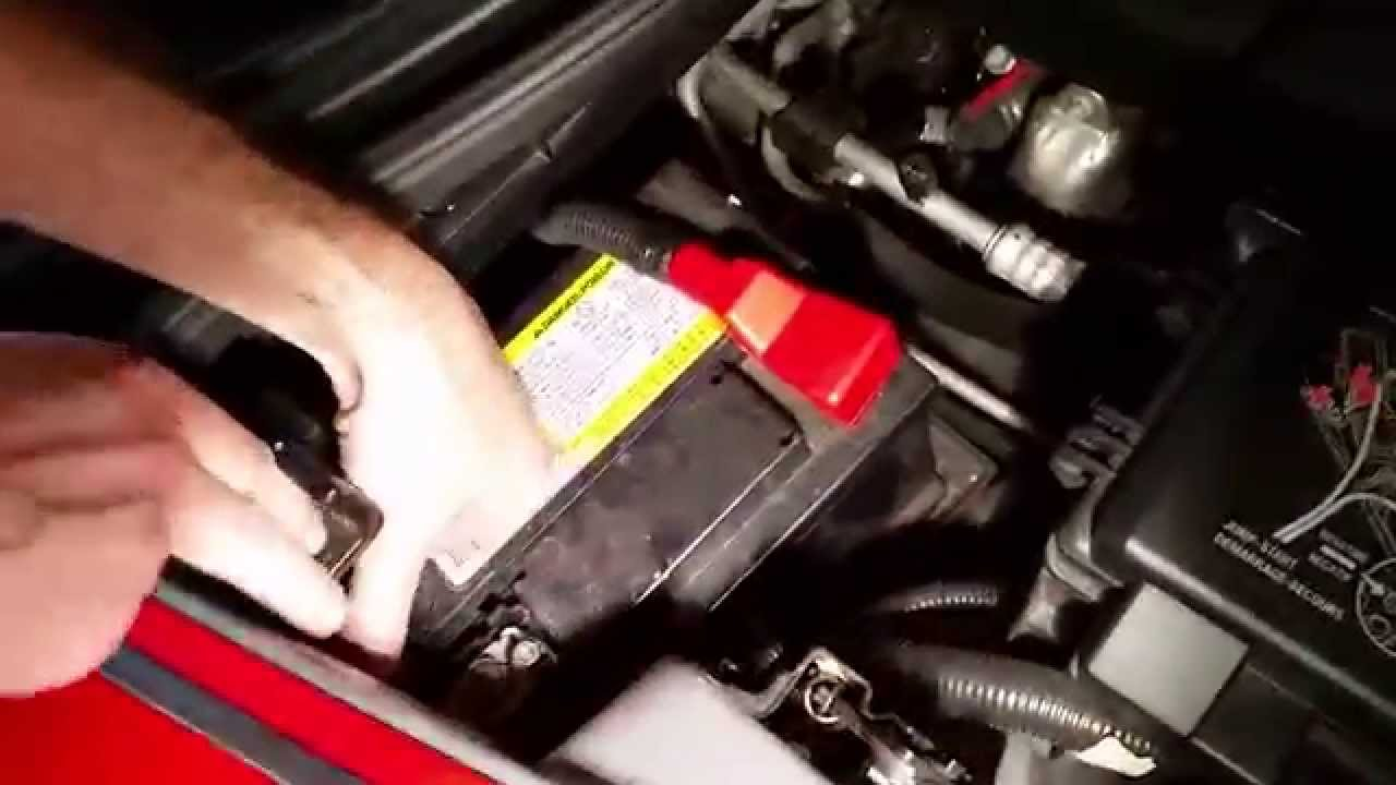 How To Replace A Battery On A C6 Corvette 2005 2013