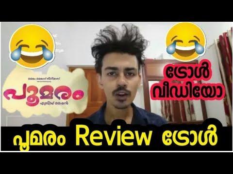 പൂമരം പൂത്ത വഴിയേ |Poomaram review troll by aromal