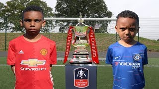 Fa cup final football challenge!!