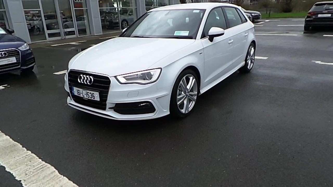 161 2016 audi a3 sportback 1 6tdi 110 sline 35 730 youtube. Black Bedroom Furniture Sets. Home Design Ideas