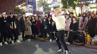[Busking No1/HD] Red crew(레드 크루) gangyong_EXID_I love you/performance/홍대 버스킹/Kpop dance