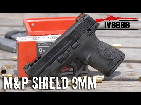 M&P Performance Center Shield 9mm Ported
