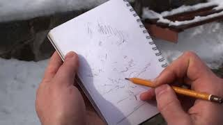 Как правильно делать зарисовки, наброски, эскизы (с натуры)