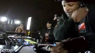 """Vinyl set """"DJ Jazzy Jeff"""" Red Bull Music 3style world 2019 afterparty."""