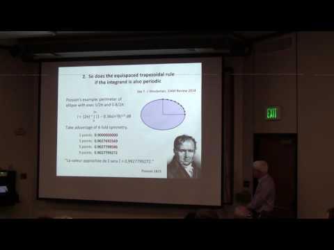 Professor Nick Trefethen, University of Oxford, Linear Algebra Optimization