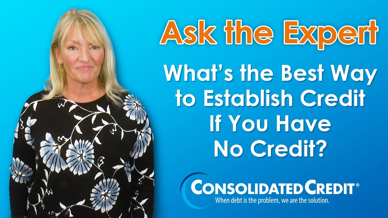 What Is The Best Credit Card For No Credit History Consolidated Credit