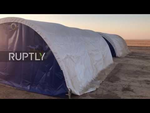 Iraq: Tents ready to house thousands of displaced persons as battle for Tal Afar gets underway
