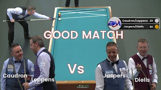 Bida 3 Băng 당구 3 쿠션 Caudron/Leppens&Jaspers/Dielis 3 Cushion Billiards