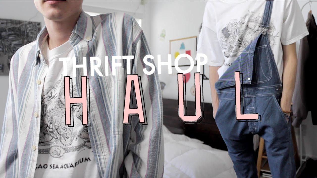 THRIFT SHOP HAUL - YouTube