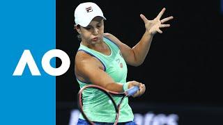 Ashleigh Barty vs Alison Riske - Match Highlights (4R) | Australian Open 2020