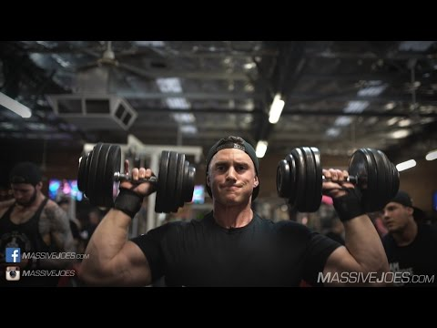 Shoulder Workout   In The Gym With Team MassiveJoes LIVE   May 2016