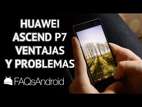 Huawei Ascend P7: 3 ventajas y 3 problemas