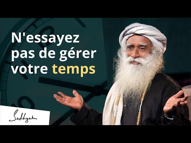 Est-il possible de maîtriser le temps ? | Sadhguru Français