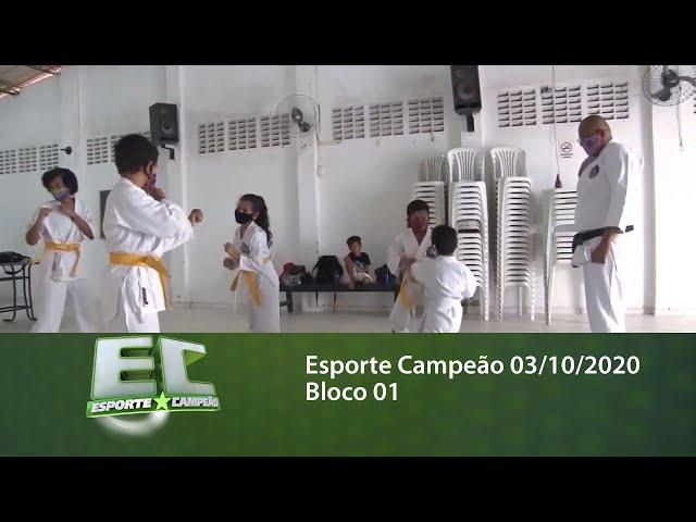 Esporte Campeão 03/10/2020 - Bloco 01