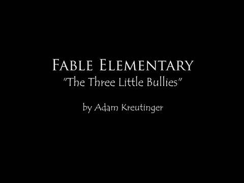 The Three Little Bullies :: The 2013 National Puppetry Conference