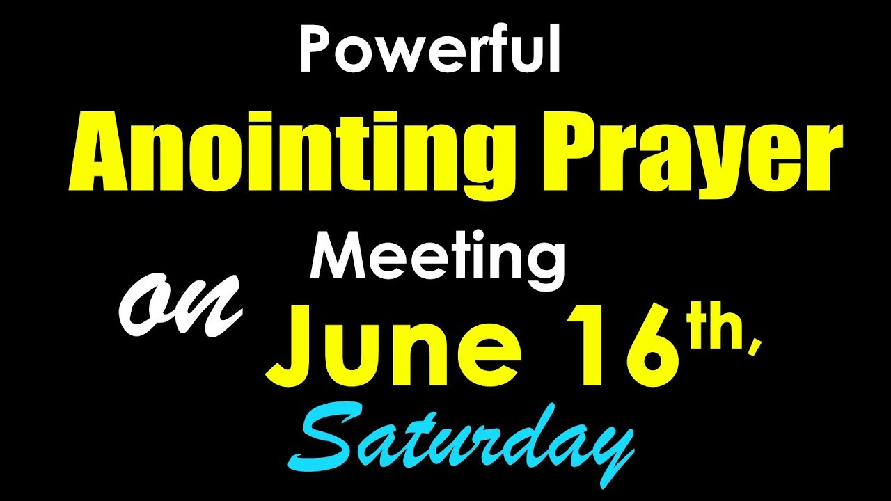 Powerful Prayer Meeting on June 16th,2018 in Gachibowli