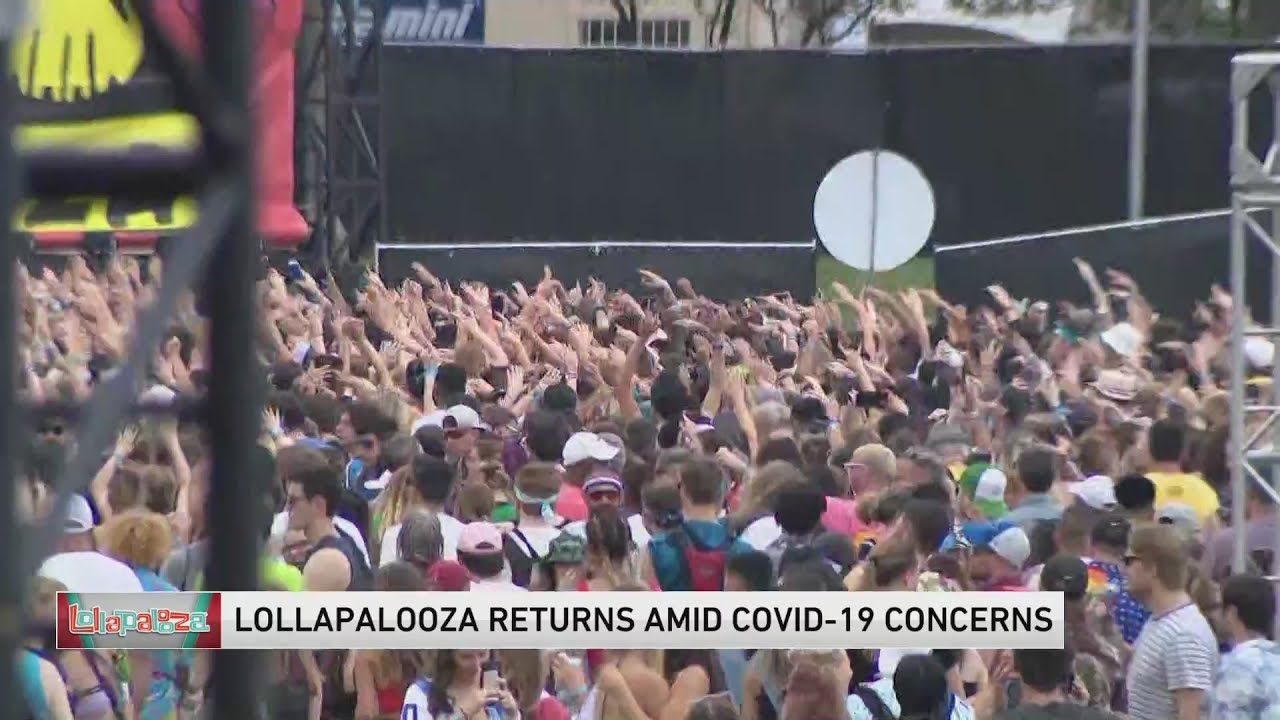 Lollapalooza: More than 90% of attendees showed proof of vaccine ...
