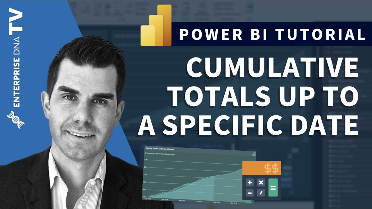 Cumulative Totals Only Up To Specific Dates - DAX Tutorial For Power BI
