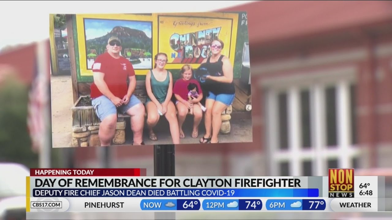 Community to honor Clayton firefighter who died from COVID-19