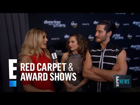 "Ginger Zee & Val Chmerkovskiy ""Elated"" Over ""DWTS"" Score 