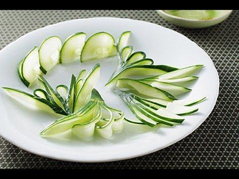 【楊桃美食網】大黃瓜簡單作盤飾