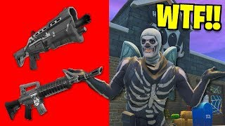 skull trooper does halloween store challenge and GETS THIS... AND WINS!!
